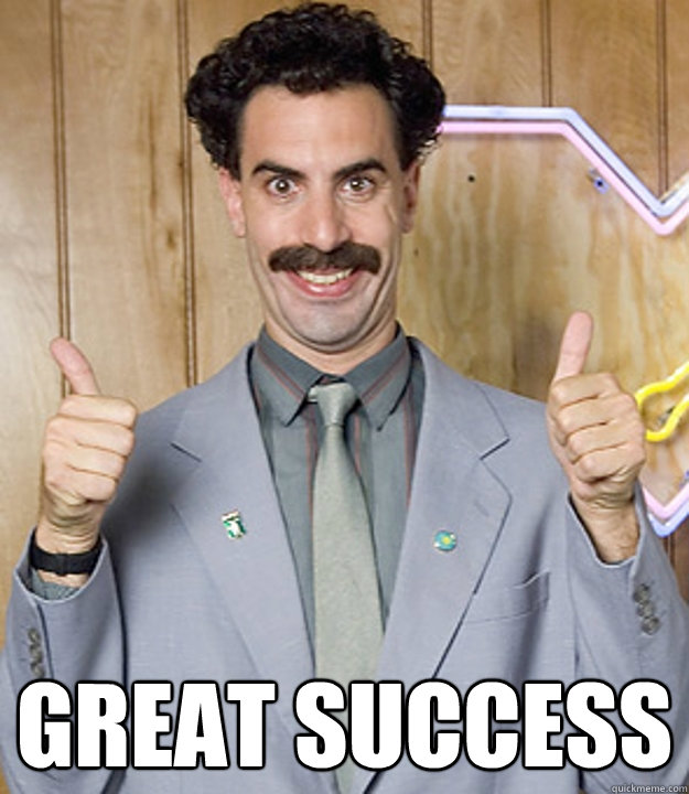 borat - great success